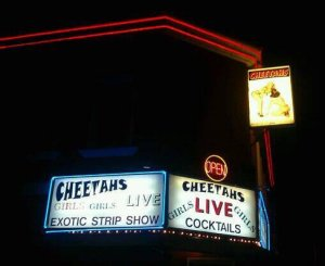 Cheetahs Exterior sign shot